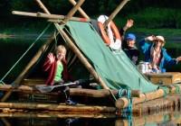 Suède, excursion insolite en radeau de bois